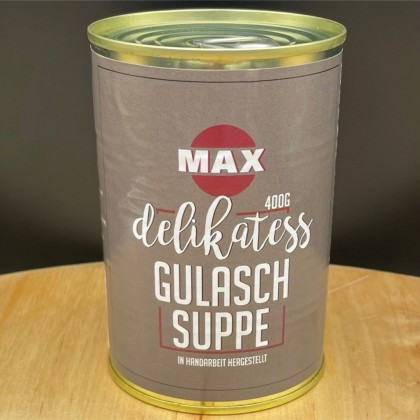 Delikatess Gulaschsuppe 400g Dose