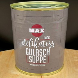 Delikatess Gulaschsuppe 800g Dose